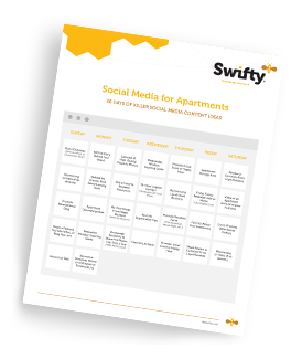 Swifty 30 Days of Social Content Offer